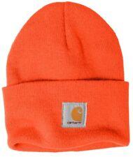 6caa4b70c19 Carhartt Acrylic Watch Beanie Knit Men s Stocking Cap Warm Winter Hat  Authentic