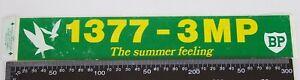 VINTAGE-BP-1377-3MP-AM-MELBOURNE-RADIO-AUSTRALIA-ADVERTISING-PROMO-STICKER