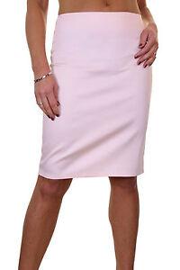 """Stretch Skirt 22"""" Smart Casual Slight Sheen Sateen Baby Pink New 6-18 üBerlegene Leistung Kleidung & Accessoires"""