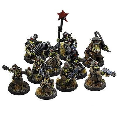 Accurato Orco War2 Soviet Goblin Squad (10) Kromlech-mostra Il Titolo Originale