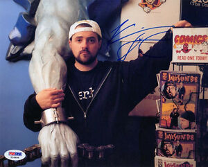 KEVIN-SMITH-SIGNED-AUTOGRAPHED-8x10-PHOTO-CLERKS-SILENT-BOB-PSA-DNA