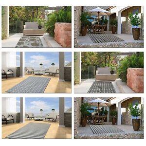 Tappeti per esterno cortili e terrazze resistenti all 39 acqua outdoor patio ebay - Tappeti per esterno ikea ...