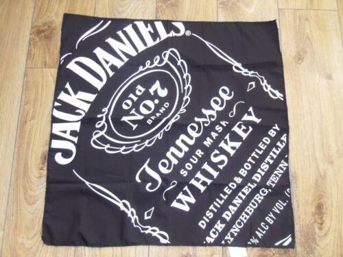 7 Brand Black Bandana Scarf  2017 Edition BNIB 5 x Jack Daniels Old No