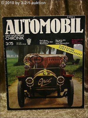 Automobil /& Motorrad Chronik 10//82 Opel Rekord Mercedes