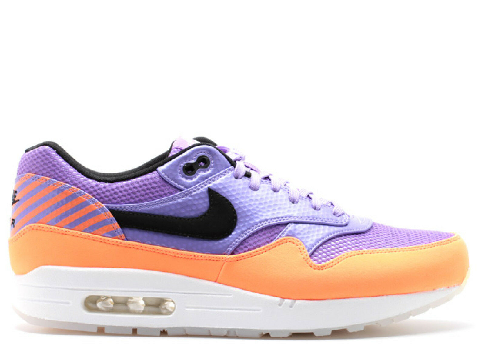 BNIB Nike Air Max 1 FB Premium QS Atomic Violet Black Orange