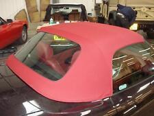 Fiat Barchetta Burgundy Mohair Hood with Plastic Window