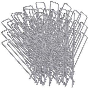 """6/"""" Staples 6/"""" Landscape Fabric Pins Sod Staples Landscape Staples Qty. 100"""