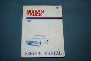 1981 Datsun Pick-Up 720 Service Repair Shop Maintenance Manual ...