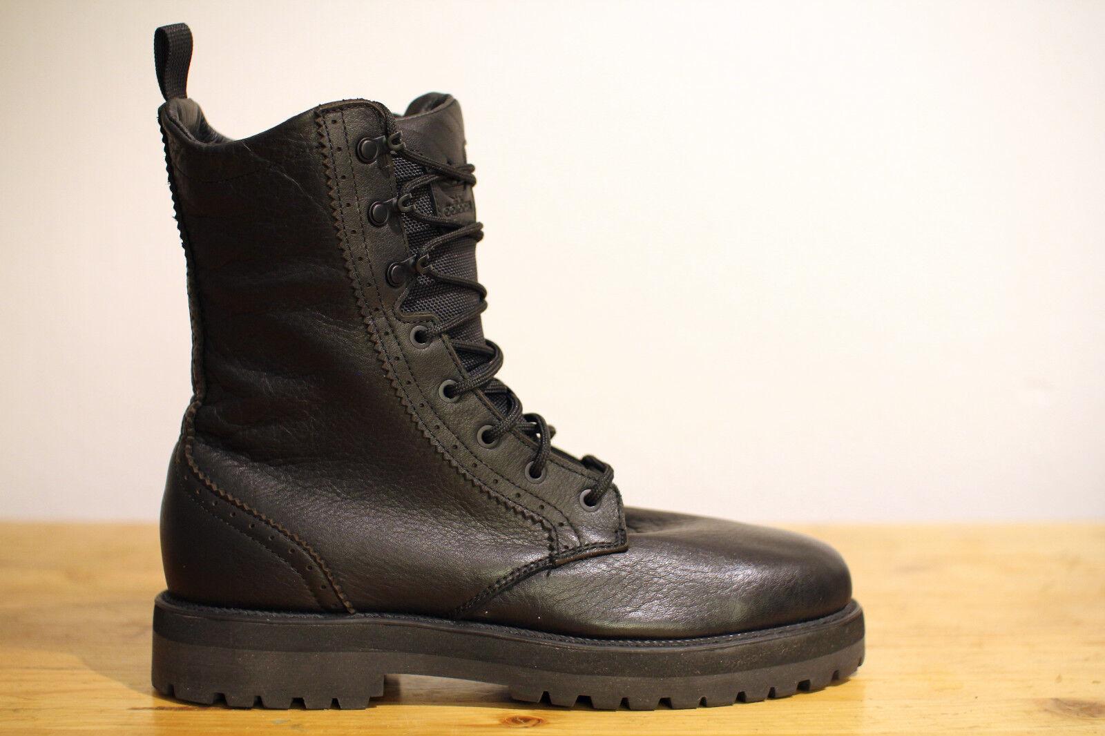 Adidas negro City hike botas botas negro Gr. 42 nuevo