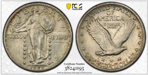 1925-25C-PCGS-AU55-Standing-Liberty-Quarter-RicksCafeAmerican-com