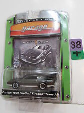 GREENLIGHT MUSCLE CAR GARAGE CUSTOM 1989 PONTIAC FIREBIRD TRANS AM