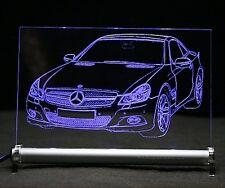 LED-Leuchtschild - graviert ist  SL R230   Autogravur