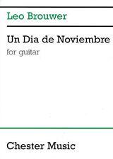 Un Dia de Noviembre Sheet Music for Guitar NEW 014005189