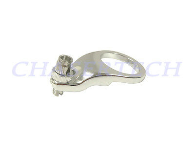 New Tektro MTB Bicycle Bike Theaded Headset Cable Hanger 32.0mm Silver