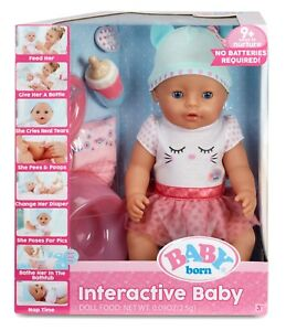 Baby Born Doll With Accessories Amp Potty Interactive Baby