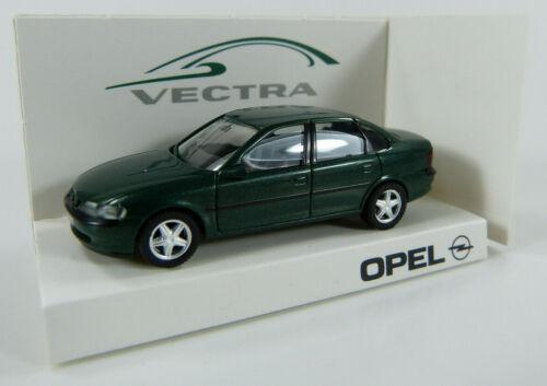 dunkelgrün Herpa 1:87 H0 OVP K11 Werbemodell Opel Opel Vectra