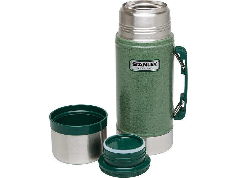 Stanley Classic Classic Classic Essensbehälter Food Jar bis 12 Std heiß Isolierbehälter 2 Größen 2239ba