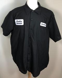 PLAYBOY MANSION Mens Pool Boy Shirt Uniform Play Boy Costume Size XL XLarge - eBay