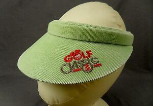 Disney Golf Classic Sun Visor Hidden Mickey Mouse Hat Cap Oldsmobile ... 7f4ae9e4c91