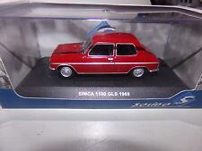 miniature 1/43  SOLIDO             SIMCA 1100 GLS DE 77