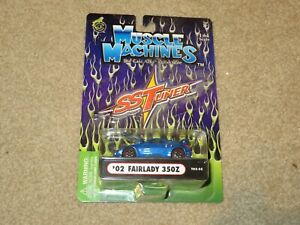 02 Fairlady 350Z 2003 Muscle Machines SS Tuner 1:64 Scale