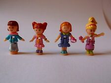 Vintage Polly Pocket Dolls Figures for Magic Ball , Bundle Excellent condition