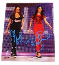 WWE BELLA TWINS NIKKI & BRIE SIGNED AUTOGRAPHED 8X10 PHOTO FILE PHOTO COA 33