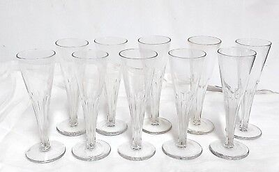 10 Flöten A Champagner Kristall- Größe A Pans Tassen Directoire Blue H 17 Cm Wohltuend FüR Das Sperma
