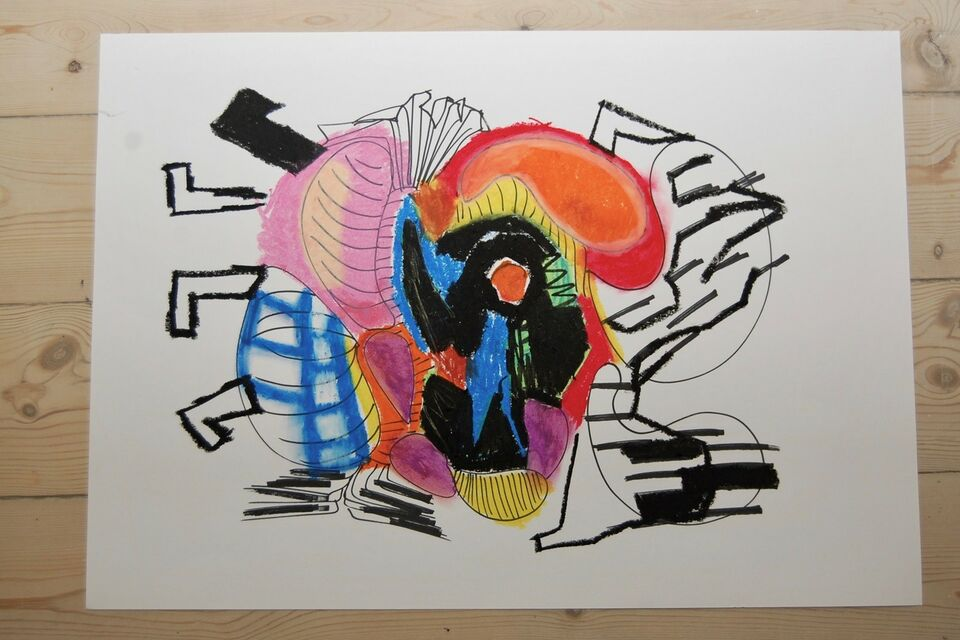 abstrakt tegning