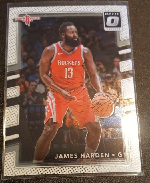 335e5dad8050 2017-18 Panini Donruss Optic  51 James Harden Houston Rockets Basketball  Card