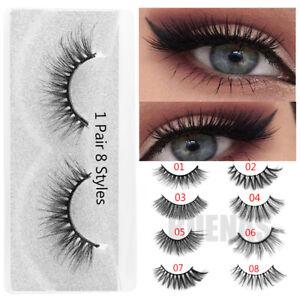 False Eyelashes Strong-Willed 7pairs/set 3d Mink Hair 25mm False Eyelashes Thick Long Wispy Fluffy Handmade Cruelty-free Mink Eye Lash Makeup Extension Tools