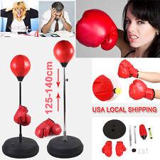 Punchingball Standbox Ball Stand Kicking Punching Bag Training Free Gloves/Pump