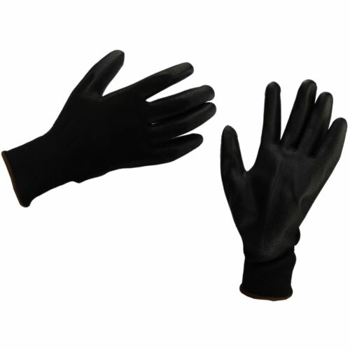 New Pu Coated Builders Work Construction Mechanic Grip Gloves Diy Tool Gloves