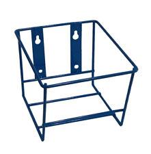 Metal Wall Rack Single Square Gallon Blue Pn 9001
