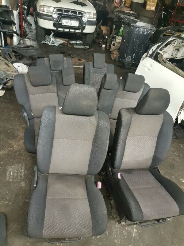 Toyota Avanza 2016 Model  Complete Set Of Seats In Stock For Sale!!!!Very Clean Set!!!!!!!!!!!!!!!