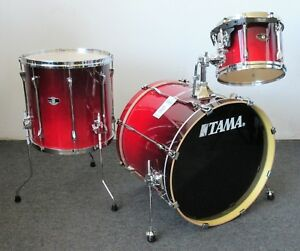 a1cdea19994a Tama Superstar Custom Hyperdrive 3 Pc Kit Custom Scarlet Fade 22 16 ...