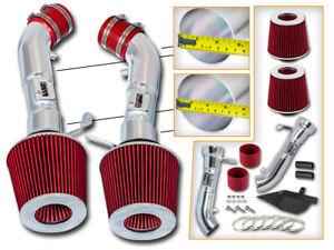 BCP BLUE Heat Shield Cold Air Intake For 2009-2019 370Z 3.7 V6
