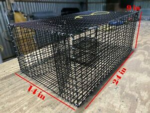 Pinfish Trap (Rectangle) - Rectangle Bait Fish Trap: Bream Trap – Perch Trap – P