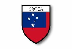 Stickers-decal-souvenir-vinyl-car-shield-city-flag-world-crest-samoa