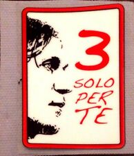 AC Milan MALDINI 3 SOLO PER TE Football Team SOUVENIR CREST Badge Patch