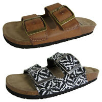 Billabong Womens Dual Strap Buckled Sandal Shoes