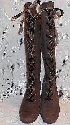 Aerosoles lace up zip up Boots 5.5M