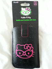 Hello kitty phone case - Mobile & portable MP3 iPnone  case - Black & Pink UK