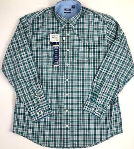 de62239e Men's Clothing Casual Button-Down Shirts IZOD mens Big Tall Advantage  Performance Sport Flex Shirt XLT 2XLT 3XL ...