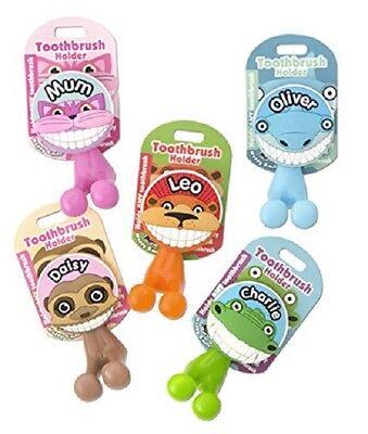 Toothbrush Holder ~ Kids/Children/Family~ Named Tooth Brush Holder I to N