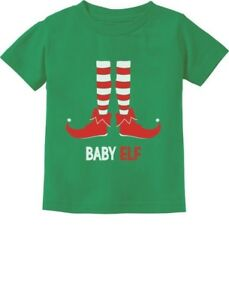 Baby-Elf-Cute-Christmas-Gift-Santa-039-s-Lil-039-Elf-Holiday-Infant-Kids-T-Shirt-Xmas