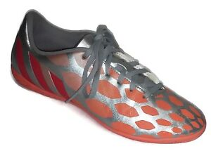 43a38c826d67 Image is loading Adidas-Womens-Predito-Instinct-IN-Orange-Silver-Indoor-