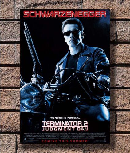ZA1007 TERMINATOR 2 JUDGEMENT DAY Movie Arnold Shwarzenegger Poster Hot 40x27