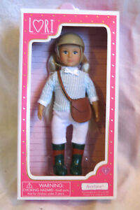 """Our Generation Lori Doll EVAN Equestrian Horse Riding Blonde BOY  6/"""" NEW IN BOX"""