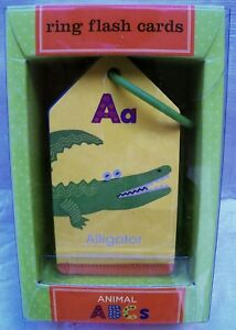 Animals-ABCs-Ring-Flash-Cards